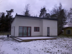 Fritidshus vid Lausviken